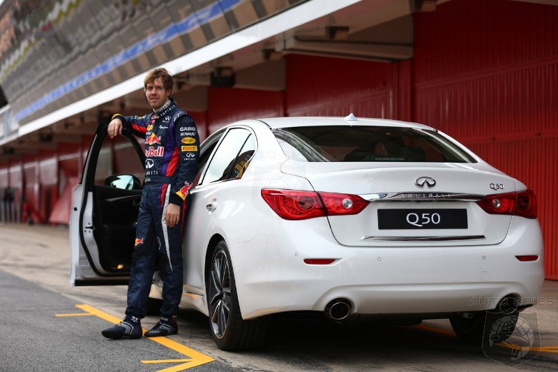 NEW YORK AUTO SHOW: Infiniti Names Three Time F1 Champion Sebastian Vettel As Director of Performance