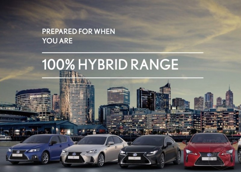 Toyota Hybrid Ad Banned In Norway After Being Deemed As Lies