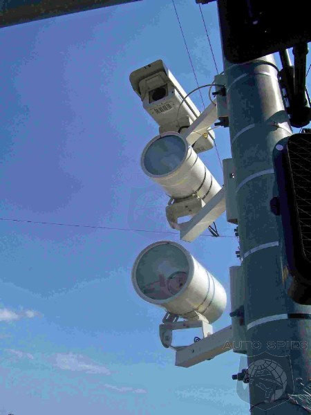 California Senators Allow Camera Company To Rewrite Red Light Ticketing Laws?