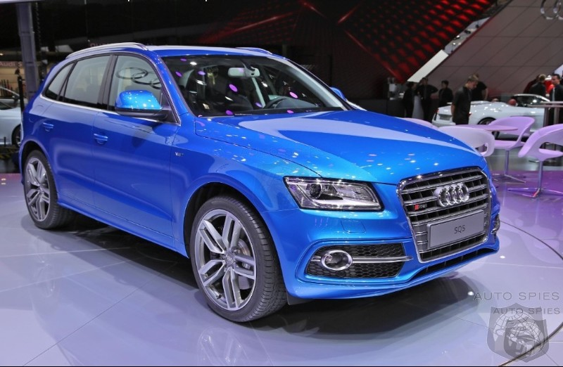 PARIS MOTOR SHOW: Up Close And Personal With The Audi SQ5 Performance Diesel Crossover
