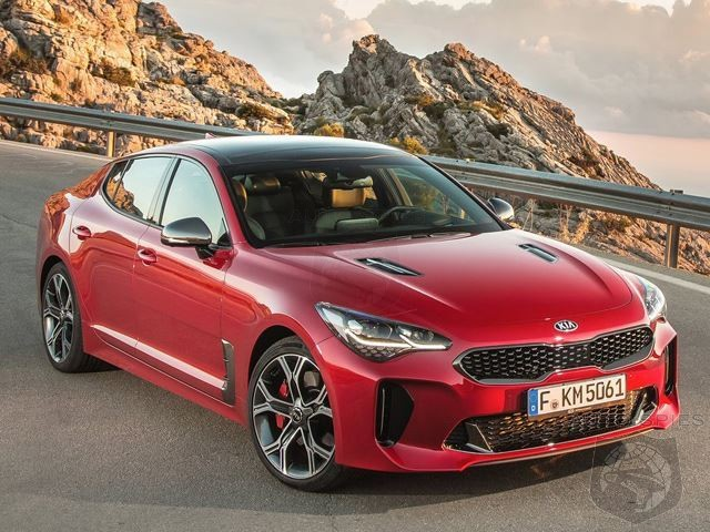 ANOTHER Nail In The Coffin For The Germans? Kia's New Stinger Can Be Leased For $299 A Month