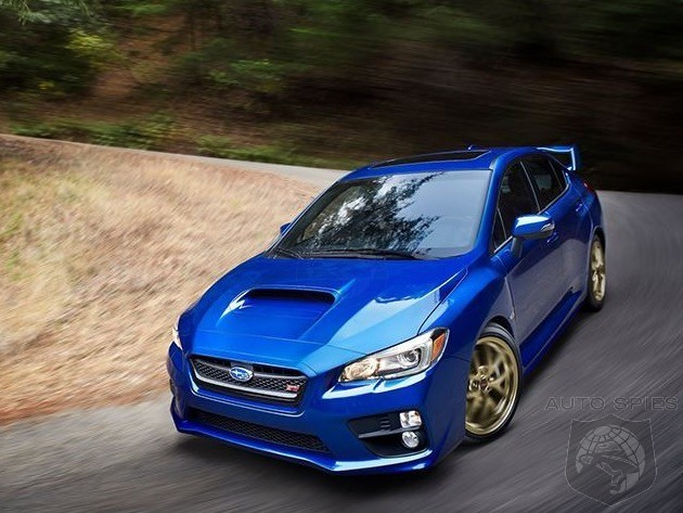 Subaru WRX Sti To Get Mild Refresh Before Total Redo In 2018
