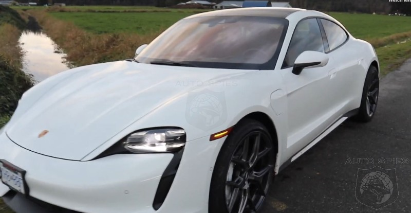 WATCH: Tesla Owner Takes A Drive In Porsche Taycan Turbo And Gives His Honest Take On It