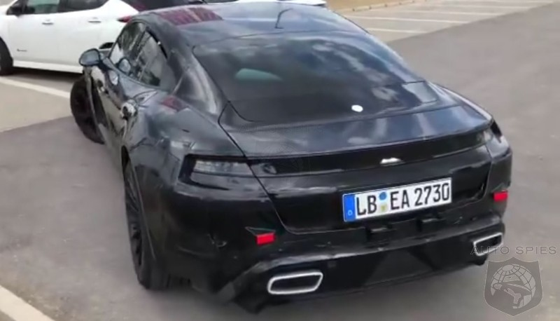 Porsche Taycan Complete With Fake Exhausts Caught In The Wild