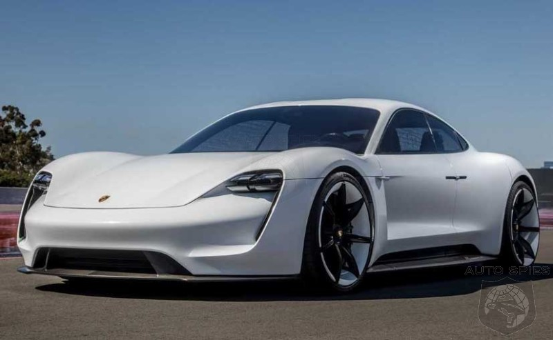 Porsche Officially Names The Production Mission E As The Taycan