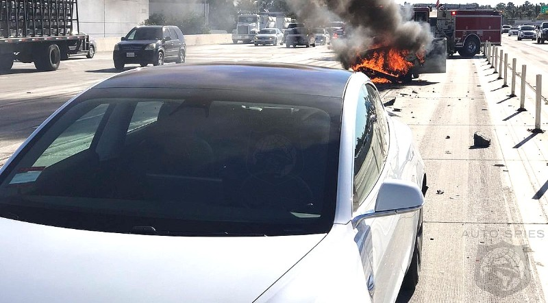 Contrary To What You Might Think, Telsa Vehicles Are Eight Times LESS Likely To Have A Fire