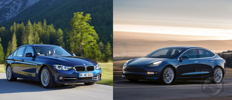 Investor Warns That The Tesla Model 3 Will Decimate BMW 3 Series Sales - Care To Set Him Straight?
