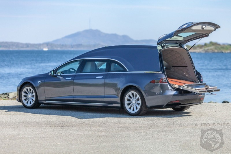 Better Hurry: That Tesla Model S Hearse You Wanted Is Up For Sale For Only $230,000
