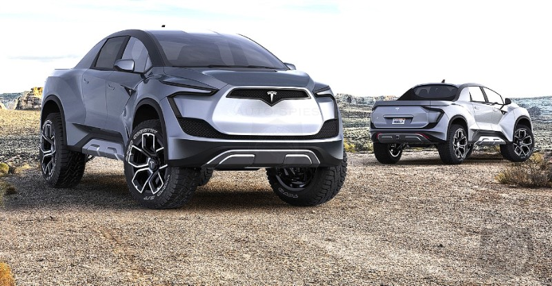 Counting The Chicks Before They Are Hatched? Tesla Pickup Overtakes F-150 As Most Talked About Pickup