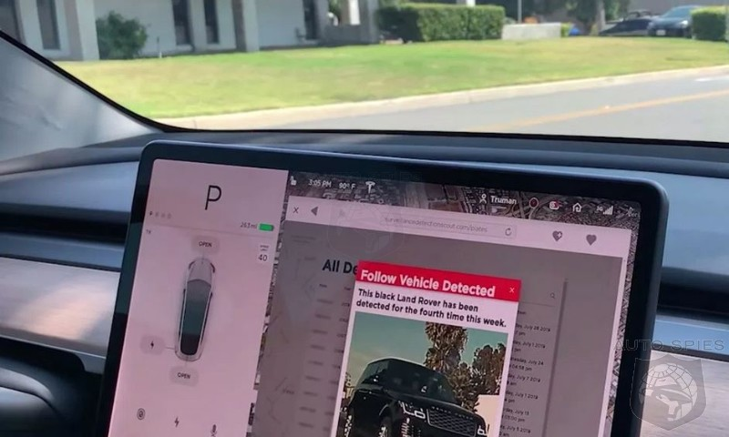 Software Engineer Turns Tesla Sentry Mode Into A Covert Counter-Surveillance Tool