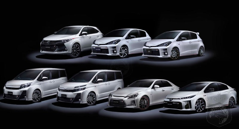 Toyota Goes Euro And Unleashes An Entire Range Of Performance Models In Japanese Market