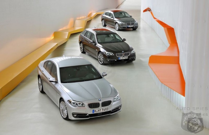 Did BMW Perfect The Ultimate Luxury Trifecta With The 2014 5 Series Facelift?