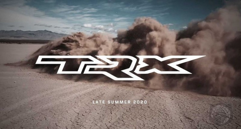 Hellcat Powered 2021 Ram TRX Teased For Summer Launch