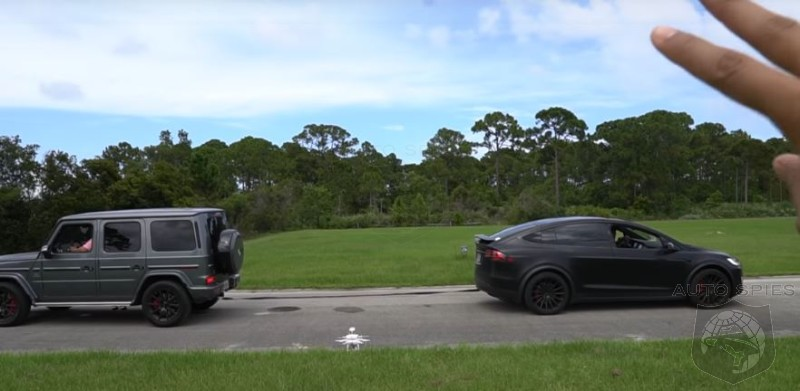 WATCH: Mercedes G63 Vs Tesla, Lamborghini, Range Rover In An Ultimate Tug Of War Challenge