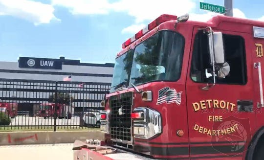 Federal Agents Now Probing Detroit UAW Fire In July As Arson