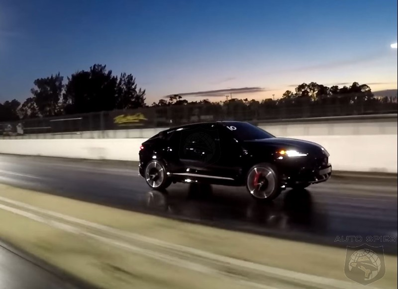 WATCH: 800HP Audi RSQ8 Dispenses Lamborghini Urus At The Track Then Takes On A Tesla Model X