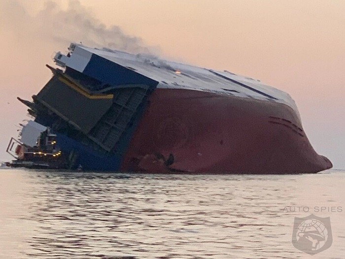 Cargo Ship Accident Leaves 4 Missing And 4,000 Kia/Hyundai Vehicles Totaled