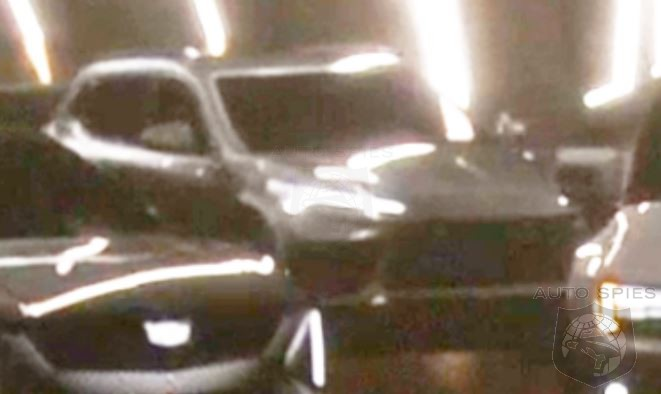 Mystery Corvette Like SUV Spied In GM's CES Announcement