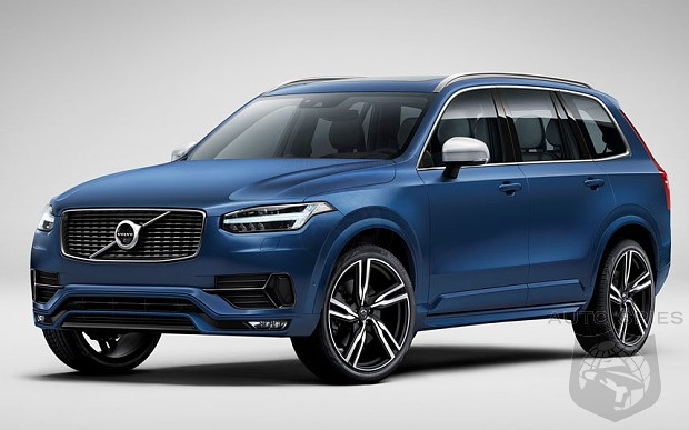 Volvo Lifts The Skirt On Sporty XC90 R-Design