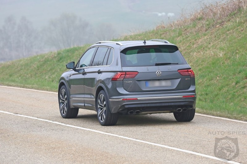 High Performance Tiguan R With 300HP Golf R AWD Powertrain Caught Testing