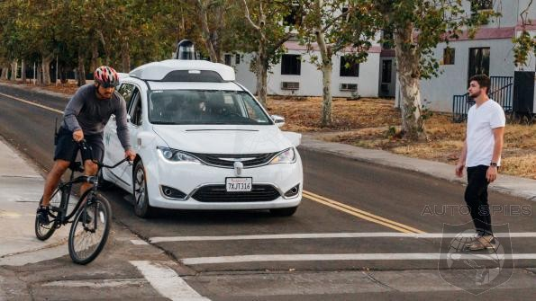 Waymo Self Driving Demo Confirms What We Knew All Along- Your Days Of Having Fun While Driving Are Numbered