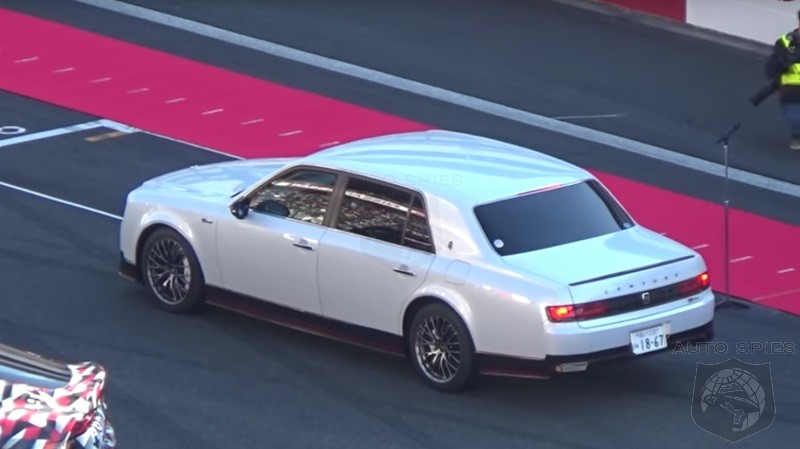 Not So Boring After All? Toyota CEO Shows Up To Track Event In A Decidedly Unique Set Of Wheels