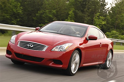 new infiniti g37 inspires lust at first sight - autospies