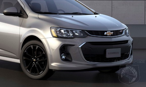 #NYIAS: OFFICIAL! Chevrolet Updates The 2017 Sonic And Gives It A Bit More...Camaro?