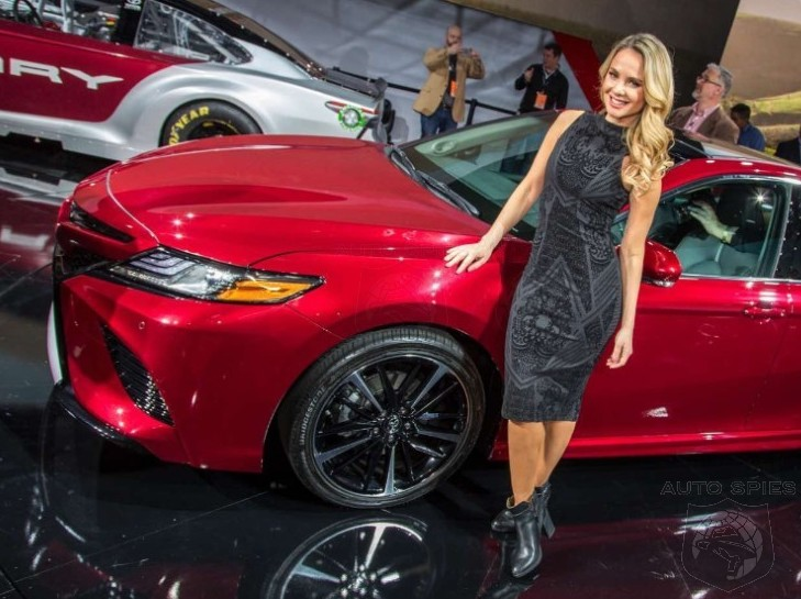 #NAIAS: You NEED To See These REAL-LIFE 2018 Toyota Camry Pics — Most EXTREME Camry Yet