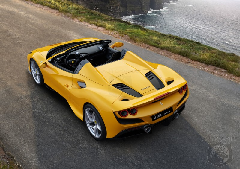 #IAA: This Yellow Ain't Mellow, Ferrari Debuts Its F8 Spider For Frankfurt