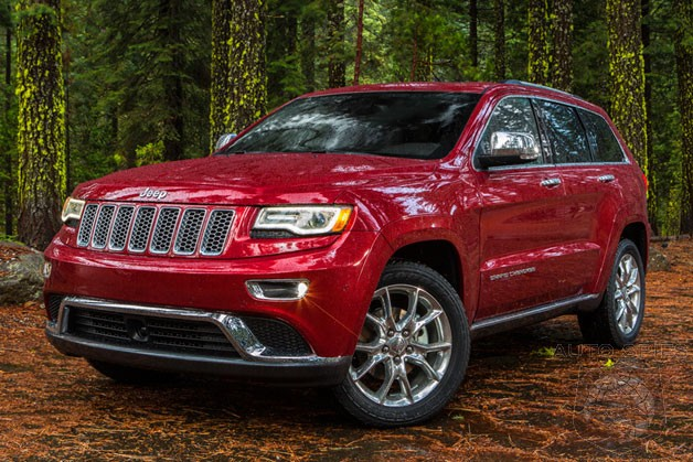 DETROIT AUTO SHOW: First Real-Life Photos Of The New Jeep Grand Cherokee's New Uconnect Interface