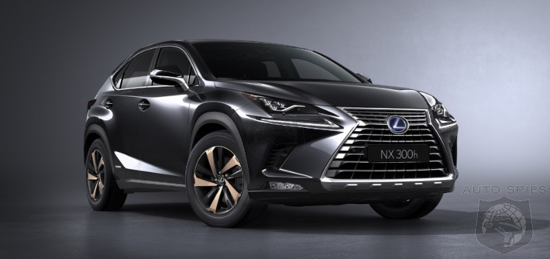 #IAA: MORE Pictures Of The REFRESHED 2018 Lexus NX, Which ALSO Benefits From A Price Cut — DETAILS Here