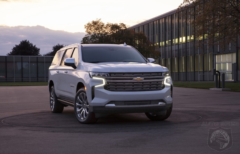 ATTENTION WALMART SHOPPERS! Did The New 2021 Tahoe And Suburban Take A WRONG Turn On Their EXPEDITION?