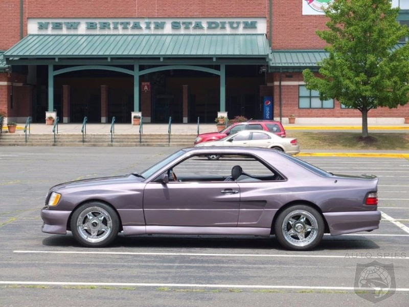 AWESOME or AWFUL? Would You Ever Want To Be Seen In Ken Griffey Jr.'s Former 1991 Mercedes 300CE?