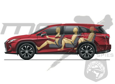 It's Coming! Shouldn't Be Long Now — Three-row Lexus RX Slated For October Debut