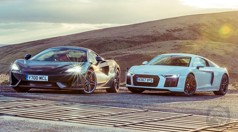 CAR WARS! Mid-engine And Rear-wheel Drive, WHICH Supercar Would You Have? McLaren 570S vs. Audi R8 RWS