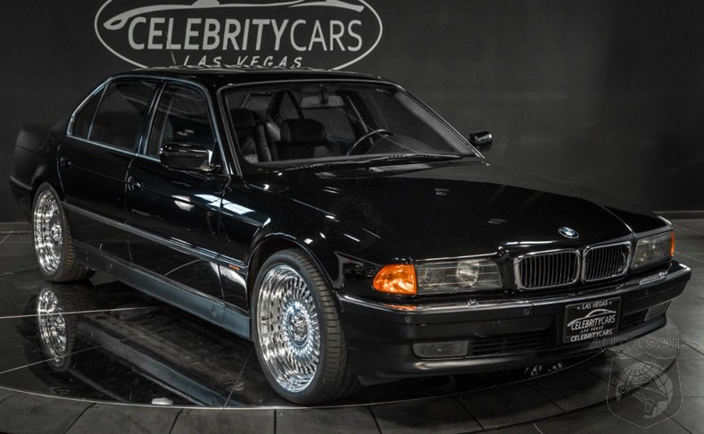 You Won't Believe How Much The BMW 750iL That Tupac Shakur Was Gunned Down In Is On Sale For...