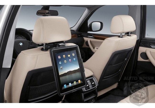 PARIS MOTOR SHOW: FIRST REAL LIFE Photos Of BMW's iPad Integration