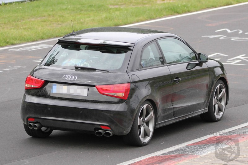 SPIED: HUH?! What Is Audi Up To With The A1 NOW?
