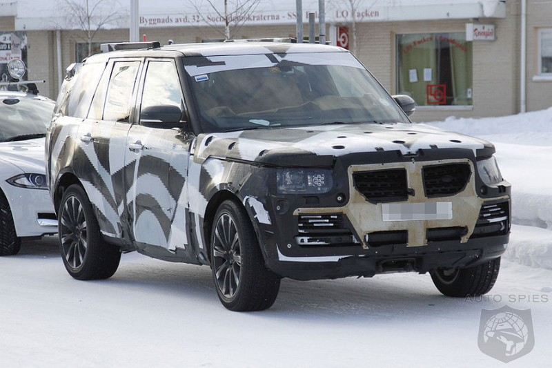 SPIED: I Spy The Next-Gen Range Rover In Sweden