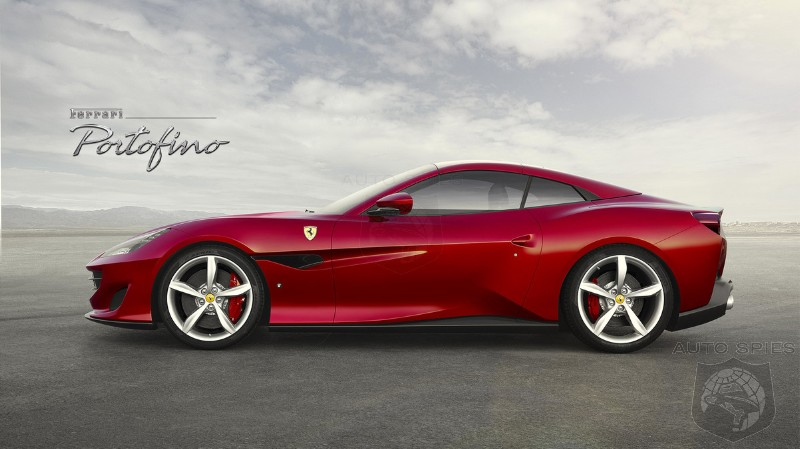 #IAA: Ferrari Ditches The California T And Introduces The Portofino — F12 Looks With A Drop Top