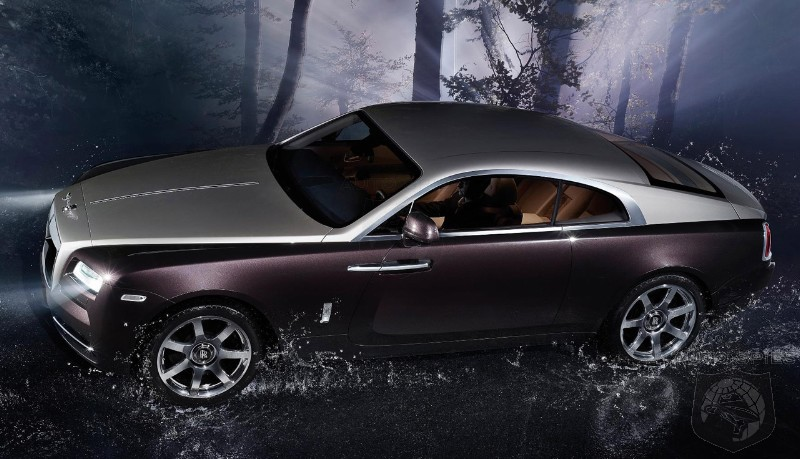 Rolls-Royce Giving The Wraith Convertible A GREEN Light Is All But Certain