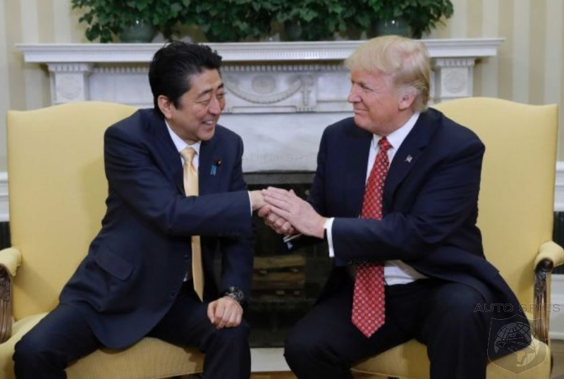 US And Japan Reach Trade Agreement, US Will Still TAX Japanese Vehicles That Are Imported