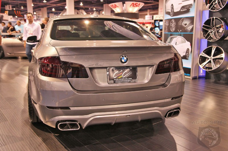 2010 SEMA AUTO SHOW: BMW's Galore On SEMA Show Floor