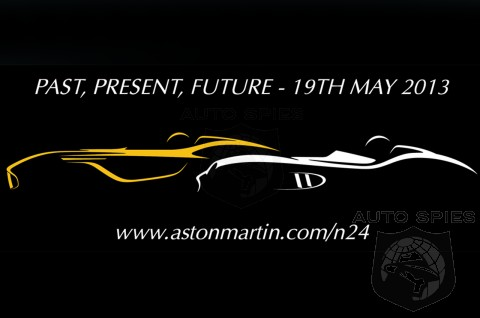 Aston Martin To Reveal A NEW Car At This Weekend's Nurburgring 24-Hour Race