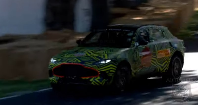 #FOS: Prototype Aston Martin DBX Tackles The Goodwood Hillclimb — What Do YOU Think?