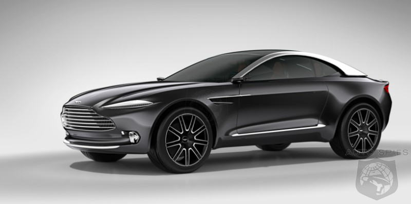 Aston Martin's CEO, Andy Palmer, Explains The DBX, WHY Aston Is Going To Build It, And Takes A Crack At Ferrari