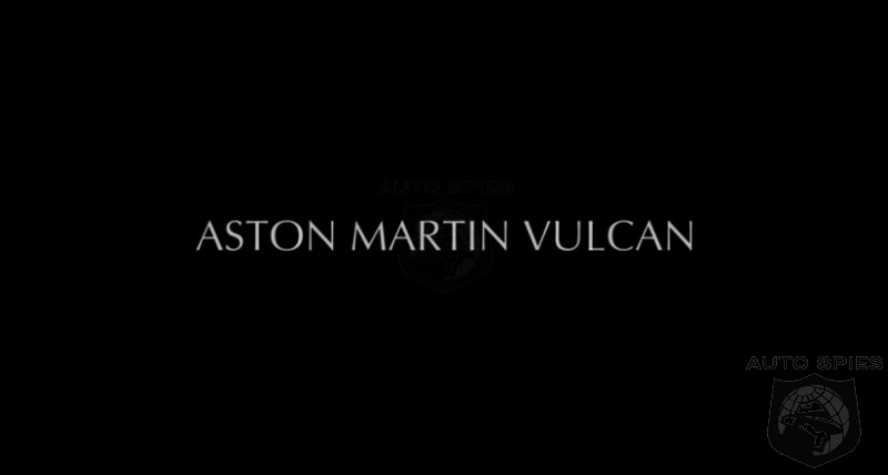GENEVA MOTOR SHOW: VIDEO + TEASED! Whatever Aston Martin Is Working On Just Gave Me The CHILLS!
