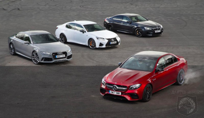 Super Sport Sedan IRONMAN: The Mercedes-AMG E63 S Takes On The Audi RS7, BMW M6 Gran Coupe And Lexus GS F