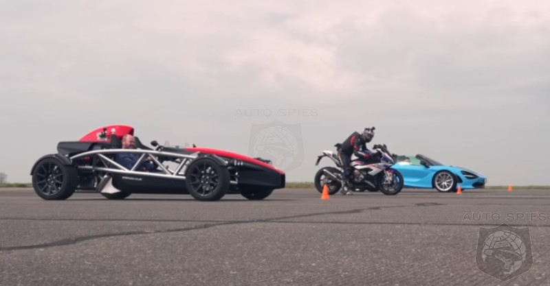 VIDEO: Drag Race! You May Be Surprised To See Which Vehicle Gets The